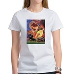 Mandolin Angel & Doxie (BT) Women's T-Shirt
