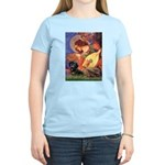 Mandolin Angel & Doxie (BT) Women's Light T-Shirt