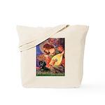 Mandolin Angel & Doxie (BT) Tote Bag