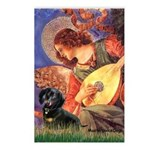 Mandolin Angel & Doxie (BT) Postcards (Package of