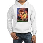 Mandolin Angel & Doxie (BT) Hooded Sweatshirt