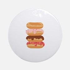 Sweet Donuts Ornament (Round)