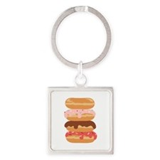 Sweet Donuts Keychains