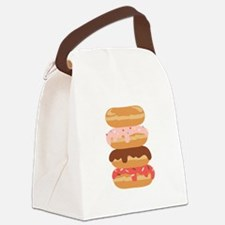 Sweet Donuts Canvas Lunch Bag