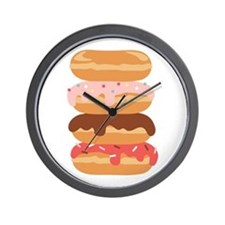 Sweet Donuts Wall Clock