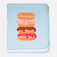Sweet Donuts baby blanket