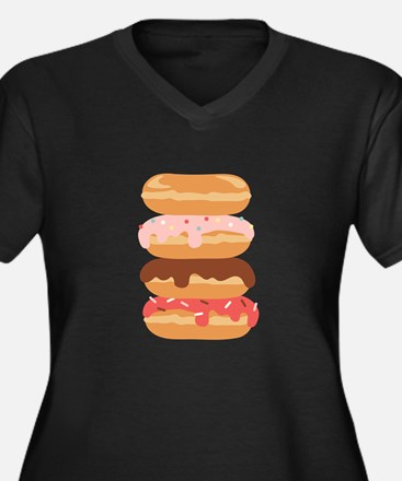 Sweet Donuts Plus Size T-Shirt