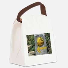 El Camino de Santiago de Composte Canvas Lunch Bag
