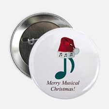 Merry Musical Christmas! Button