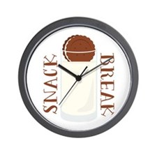 Snack Break Wall Clock