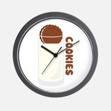 Milk and Cookies Oreo Wall Clock