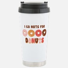 Go Nuts for Donuts Travel Mug