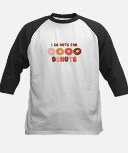 Go Nuts for Donuts Baseball Jersey