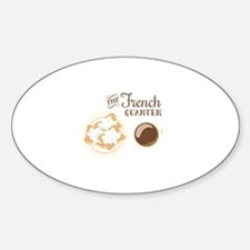 The French Quarter Beignets Decal