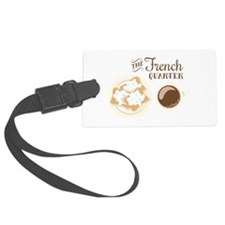 The French Quarter Beignets Luggage Tag