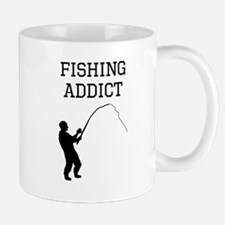 Fishing Addict Mugs