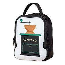 Coffee Grinder Neoprene Lunch Bag