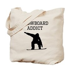 Snowboard Addict Tote Bag