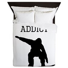 Snowboard Addict Queen Duvet
