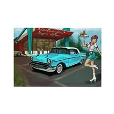 Cool Pin up Rectangle Magnet (10 pack)