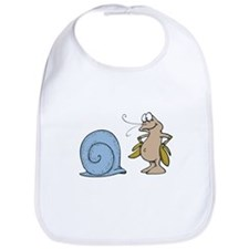 Hermit Crab Out of His Shell Bib