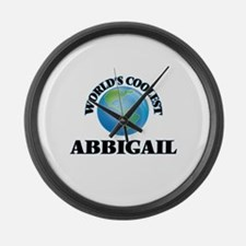 World's Coolest Abbigail Large Wall Clock