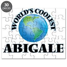 World's Coolest Abigale Puzzle