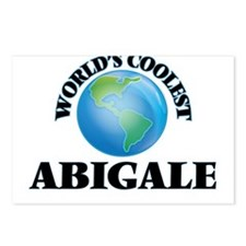 World's Coolest Abigale Postcards (Package of 8)