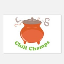 Chili Champs Postcards (Package of 8)