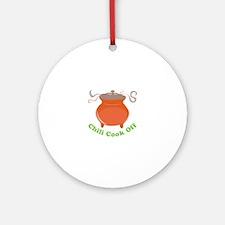 Chili Cook Off Ornament (Round)