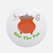 Stir The Pot Ornament (Round)