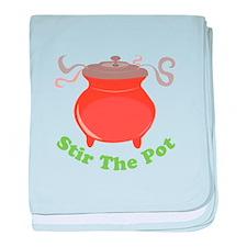 Stir The Pot baby blanket