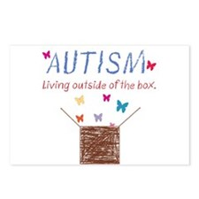 autism-outsidethebox.png Postcards (Package of 8)
