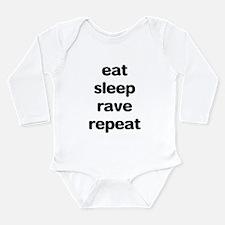 Unique Raver Long Sleeve Infant Bodysuit
