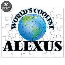 World's Coolest Alexus Puzzle