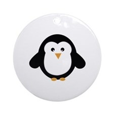 Penguin Ornament (Round)