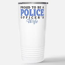 Cool Mom of police officer Travel Mug