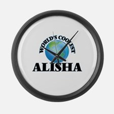 World's Coolest Alisha Large Wall Clock