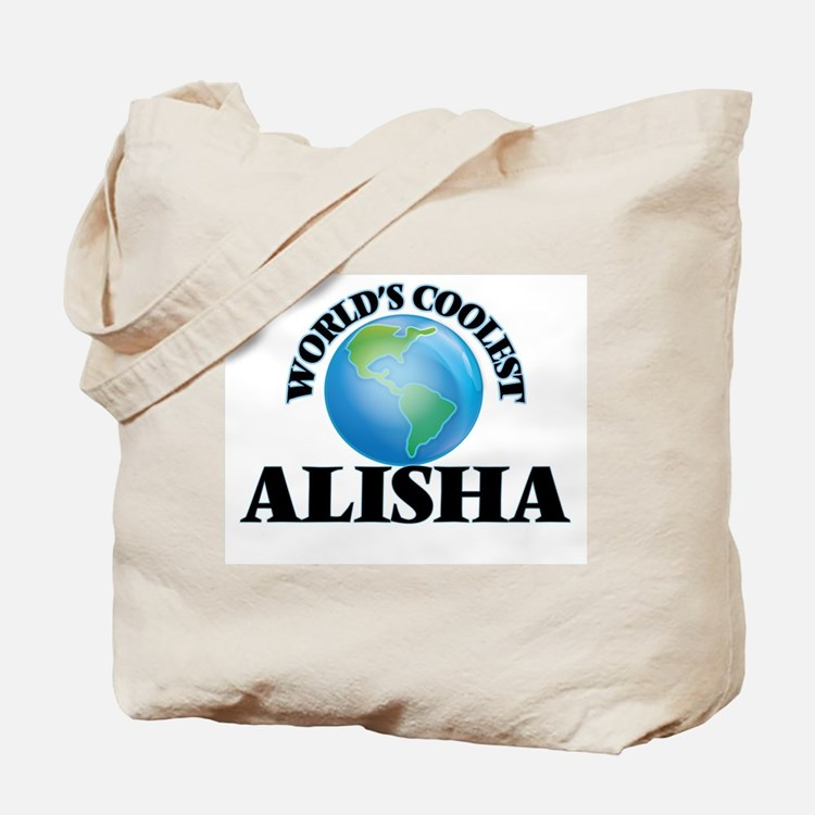 World's Coolest Alisha Tote Bag