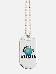 World's Coolest Alisha Dog Tags
