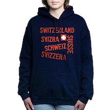 switzerland-stampAll.png Women's Hooded Sweatshirt
