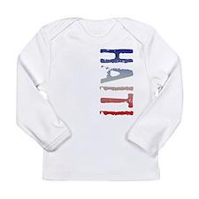 co-stamp-haitiB Long Sleeve T-Shirt