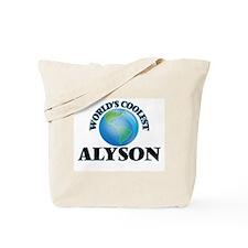 World's Coolest Alyson Tote Bag