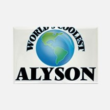 World's Coolest Alyson Magnets