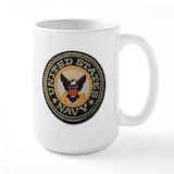 Navy Large Mugs (15 oz)