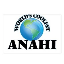 World's Coolest Anahi Postcards (Package of 8)