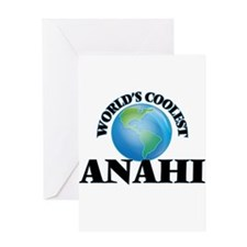 World's Coolest Anahi Greeting Cards