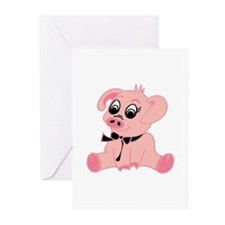 Little Pig Greeting Cards