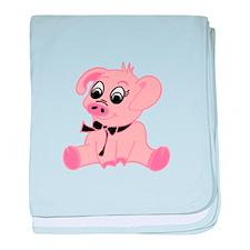 Little Pig baby blanket