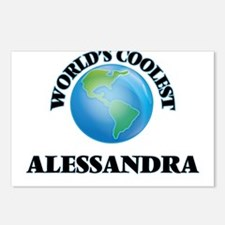 World's Coolest Alessandr Postcards (Package of 8)